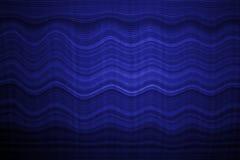 Fondo del blu di colore dell'onda di progettazione del bordo della flauto Fotografie Stock