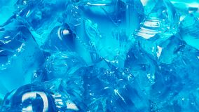 Fondo del blu di ghiaccio Fotografia Stock