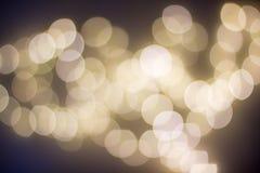 Fondo del bokeh de la Navidad Imagen de archivo libre de regalías