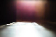 Fondo del bokeh de la perspectiva del piso del ángulo bajo foto de archivo
