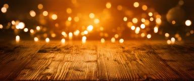 Fondo del bokeh di Natale Fotografia Stock Libera da Diritti