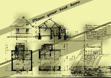 Fondo del bosquejo Imagen de archivo