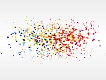 Fondo del botón del arco iris Fotos de archivo libres de regalías