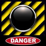 Fondo del bottone dell'allarme Immagine Stock Libera da Diritti