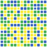 Fondo del Brasile del mosaico Fotografie Stock Libere da Diritti