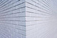 Fondo del brickwall dipinto Gray Immagini Stock