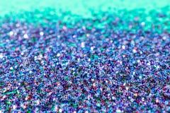 Fondo del brillo de Bokeh en azul, rojo, verde, y púrpura Imagen de archivo libre de regalías