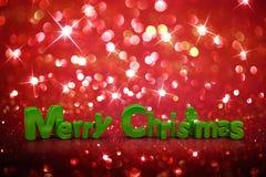 Fondo del brillo de la Navidad Fotos de archivo libres de regalías