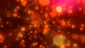 Fondo del brillo de la partícula almacen de metraje de vídeo