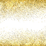 Fondo del brillo del oro Imagenes de archivo