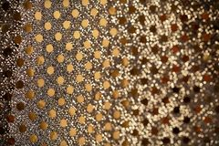 Fondo del brillo del oro del Año Nuevo de la Navidad Tela de la textura del extracto del día de fiesta Foto de archivo libre de regalías