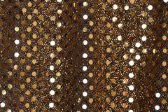 Fondo del brillo del oro del Año Nuevo de la Navidad Tela de la textura del extracto del día de fiesta Fotografía de archivo