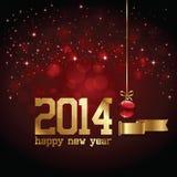 Fondo del buon anno Fotografia Stock