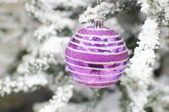Fondo del buon anno e di Natale Fotografie Stock Libere da Diritti