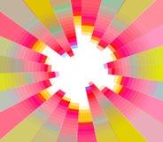 Fondo del círculo de colores del verano Imágenes de archivo libres de regalías