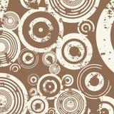 Fondo del círculo de Grunge ilustración del vector