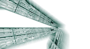 Fondo del código binario Imagen de archivo libre de regalías
