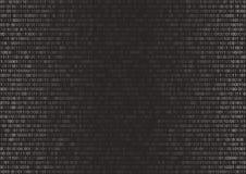 Fondo del código binario Fotos de archivo libres de regalías