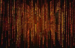 Fondo del código binario Foto de archivo libre de regalías