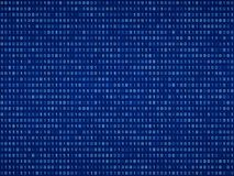 Fondo del código binario de Digitaces ilustración del vector