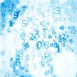 Fondo del código de Digitaces Imágenes de archivo libres de regalías