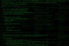 Fondo del código de programa ilustración del vector