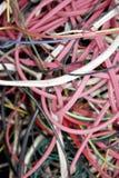 Fondo del cable eléctrico Fotos de archivo