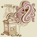 Fondo del café Foto de archivo