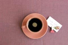 Fondo del café Fotos de archivo