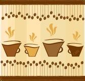 Fondo del café Fotografía de archivo libre de regalías