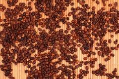 Fondo del Café-beens Fotos de archivo libres de regalías