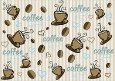 Fondo del café Fotografía de archivo