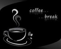 Fondo del caffè royalty illustrazione gratis