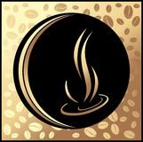 Fondo del caffè illustrazione di stock