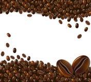 Fondo del caffè Fotografie Stock