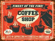 Fondo del caffè Fotografia Stock