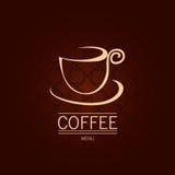 Fondo del caffè Illustrazione Vettoriale