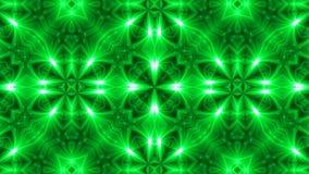 Fondo del caleidoscopio del fractal de VJ Movimiento del fondo con diseño del fractal almacen de metraje de vídeo