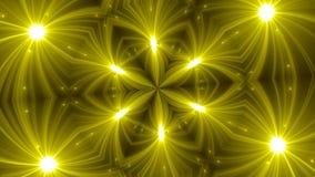 Fondo del caleidoscopio del fractal de VJ Movimiento del fondo con diseño del fractal almacen de video