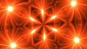 Fondo del caleidoscopio del fractal de VJ Movimiento del fondo con diseño del fractal metrajes