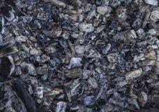 Fondo del camino Carbone bruciato immagine stock libera da diritti