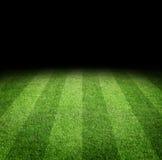 Fondo del campo de fútbol Fotografía de archivo libre de regalías