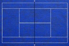 Fondo del campo de tenis Foto de archivo