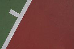 Fondo del campo de tenis Imagen de archivo