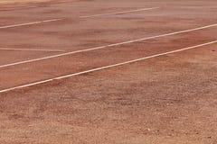Fondo del campo de tenis Fotografía de archivo