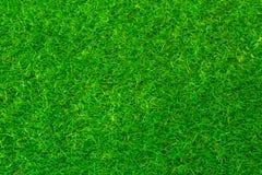Fondo del campo del fútbol o del golf de la hierba verde Fotos de archivo libres de regalías