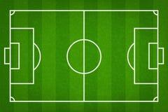 Fondo del campo di calcio o del campo di football americano Corte verde di vettore per il gioco di calcio royalty illustrazione gratis