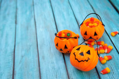Fondo del caramelo de Halloween Fotografía de archivo