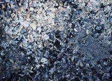 Fondo del carbone Fotografie Stock