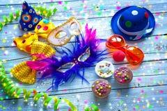 Fondo del carnaval Imagen de archivo